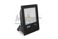 LED reflektor, INNOVO, 30W, 220-240V AC, IP65, 2100lm, 145mA, hidegfehér, fekete, SLIM  GTV-IN-SFC30W-64