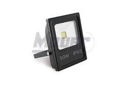 LED reflektor, INNOVO, 50W, 220-240V AC, IP65, 3200lm, 242mA, melegfehér, fekete, SLIM  GTV-IN-SFC50W-32