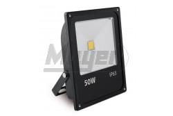 LED reflektor, INNOVO, 50W, 220-240V AC, IP65, 3200lm, 242mA, hidegfehér, fekete, SLIM  GTV-IN-SFC50W-64