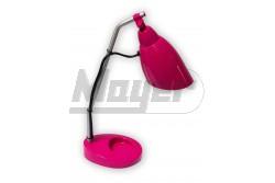 Asztali lámpa 9W E14 rózsaszín (pink)-KIFUTÓ  GTV-LB-PIXILB-55