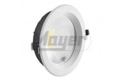 LED COB mélysugárzó kerek 20W 160fok ALU keret - kifutó  GTV-LD-COB20W-40  - Teljesítmény: 20W - Süllyesztett kivitel - Színhőmérséklet: 4500K - Fényáram (lm): 1800 - Kifutó termék