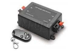 LED dimmer, távvezérlős, 12V DC/ 24V DC (90W/ 180W), 8A, fekete  GTV-LD-DIMLED-10