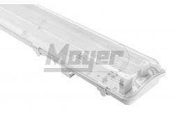 Armatúra LED fénycsőhöz por-és pára mentes, HAGEN 218,T8 LED,G13,PC/PC,IP65,AC220-240V,50/60Hz,   GTV-LD-HAG218-30