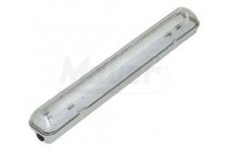 Armatúra LED fénycsőhöz por-és páramentes,HELIOS-LED1x120cm,IP65(T8-1x36W),egyoldalas betáplálás  GTV-LD-HEL136B-30  Armatúra LED fénycsőhöz por- és páramentes,HELIOS-LED1x120cm,IP65(T8-1x36W),egyoldalas betáplálás Armatúra LED fénycsőhöz Por és páramentes Méret: 1x120 cm Fénycső: T8 IP védelem: IP65 Feszültség: 220-240V/AC Egyoldalas betáplálás ABS/PC szürke színű