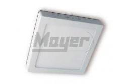 LED mélysugárzó lámpa, falon kívüli MATIS, 7W, 560lm, IP20,semlegesfehér 4000K,120fok,220-240V/AC  GTV-LD-MAN07W-NB