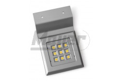 Polc megvilágító lámpatest, CALDERON, négyzet, 12V, 1,8W 9LED, króm, hidegfehér 6400K  GTV-LD-NKW9ZB-40  Polc megvilágító lámpatest, CALDERON, négyzet, 12V, 1,8W 9LED, króm, hidegfehér 6400K LED lámpa Teljesítmény: 1,8W Színhőmérséklet: hidegfehér 6400K Feszültség: 12V/DC négyzet alakú króm