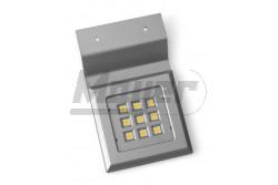 Polc megvilágító lámpatest, CALDERON, négyzet, 12V, 1,8W, 9LED, szatén, hidegfehér 6400K  GTV-LD-NKW9ZB-52  Polc megvilágító lámpatest, CALDERON, négyzet, 12V, 1,8W, 9LED, szatén, hidegfehér 6400K LED lámpa Teljesítmény: 1,8W Színhőmérséklet: hidegfehér 6400K Feszültség: 12V/DC négyzet alakú szatén