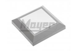 LED Lámpatest, SILVER, 4W, 250lm,125×125mm, IP65, 120fok, ezüst, szögletes,220-240V/AC,50-60Hz   GTV-LD-OSSLKW4W-80  LED Lámpatest, SILVER, 4W, 250lm,125×125mm, IP65, 120fok, ezüst, szögletes,220-240V/AC,50-60Hz   LED lépcsővilágító  Teljesítmény: 4 W  Fényáram: 250lm  Színhőmérséklet: 3000K