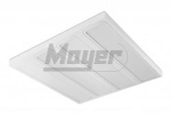 Mennyezeti falonk opál lpt. beépített LED 50W(4x18W kiv),IP20,140fok,4000K,5500lm,230V,ROMA  GTV-LD-VE4060N-50  - Teljesítmény: 50W - Védettség: IP20 - Színhőmérséklet: 4000K - Fényáram (lm): 5500lm - Mérete: 595x595x60mm