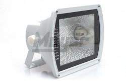 Fémhalogén fényvető 150W Rx7s IP65 szimmetrikus fehér-aluminíum  GTV-OH-OM150S-00  - Teljesítmény: 150W - IP65 - Feszültség: 230V AC - Foglalat: Rx7s - Színe: fehér