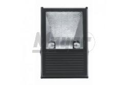 Fémhalogén fényvető 70W Rx7S IP65 fekete aszimmetrikus tükörrel  GTV-OH-OMC70A-10  - Teljesítmény: 70W - Feszültég: 230V AC - Foglalat: Rx7s - Színe: fekete