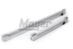 Bútórvilágító fénycsöves 13W T5 ezüst - Kifutó!  GTV-OM-OPD130-50  - Bútorvilágító - Műanyag T5 fénycsővel - Kapcsolóval - Sorolható - Teljesítmény: 13W - Kifutó termék! - Színhőmérséklet: 2700K - Feszültség: 230V AC - Méret(mm): 580 - Színe: ezüst