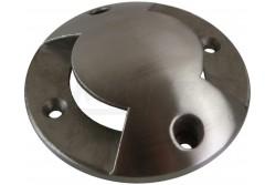 ALFA-O lámpákhoz kellék, kétirányú rozsdamentes acél takaró, IP67  GTV-ON-ALFAO-C2W  ALFA-O lámpákhoz kellék, kétirányú rozsdamentes acél takaró, IP67 Kétirányú fedél Anyag: rozsdamentes acél