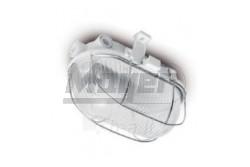 Hajólámpa, fémrácsos, E27, 1x40W,  IP54, 230V, fehér  GTV-OS-KAM060-00  Hajólámpa, fémrácsos, E27, 1x40W,  IP54, 230V, fehér Hajólámpa Fémrácsos Foglalat: E27 Tejesítmény: 40W Feszültség: 230V IP védelem: IP54 Fehér színű