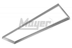 Kiemelő keret MASTER LED panelhez, falon kívüli rögzítéshez, 300x1200mm, ezüst színű  GTV-RM-MA30X120-00