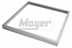 Kiemelő keret, MASTER, LED panelhez, falon kívüli rögzítéshez, 60x60cm, szürke színű  GTV-RM-MA60X60-00