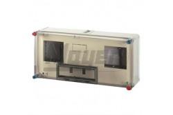 HB11KF BASIC 1+1f ázisú mérőkombináció 600x300 IP65 vízszintes HENSEL  HB11KF