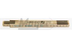 Fa mérőléc (colostok) 1m hosszú , 2,3 mm széles , 6 részre nyitható  HT4M261-D