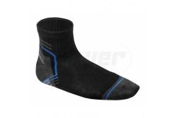 Munkás rövid zokni, fekete-grafit-kék, méret:43/44  HT5K452-43-44