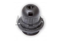 Csillárfoglalat műanyag+rögzítő gyűrű, E27, 4A, 60W, csavaros csatlakoz, fekete  JG-1358N-1373N  - Műanyag foglalat - Rögzítő gyűrű - Mérete: E27 - Teljesítmény: max.:60W - Feszültség: 230V - Színe: fekete
