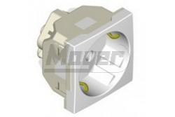 Padlódoboz  2P+F csatlakozó alj K45 fehér SIMON  KK-K019