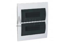 Lakáselosztó 24modul süllyesztett átlátszó ajtó DB212F 2X12P/FMD  KL-3845