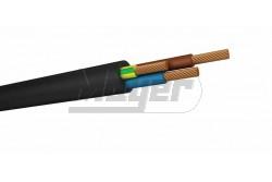 GT 3x1 mm2 gumikábel H05RR-F  MKM-328831  könnyű, gumi-szigetelésű és köpenyű zsinórvezeték fekete sodrott erek Alkalmas száraz és nedves helyiségekben elektromos készülékek energia ellátásra, alacsony mechanikai igénybevétel mellet, úgymint, háztartási gépek, konyhaeszközök.
