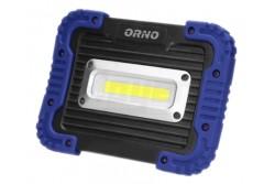 LED Munkalámpa USB töltővel, ROBOTIX SLIM LED, 20W, 1250lm, IP44  OR-NR-6151L4  + 3 kapcsolási üzemmód 30-50-100% fényerő + USB töltés max. 1A + 4400mAh Li-ion akku + 30000óra üzemidő