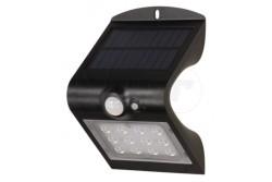 LED szolár kerti lámpa mozgásérzékelővel, SILOE, 220lm, 4000K, IP65, fekete  OR-SL-6083BLR4