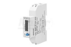 Fogyasztásmérő, Digitális, 1 fázisú, 100A, 230V/AC, IP20, 1000imp/kWh  OR-WE-512