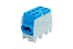 Fővezeték csatlakozó HLAK25-1/2M kék 2080137  PM-2080126