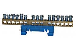 Schrack N-kapocs 15 leágazó kék  SCHR-IK021038--