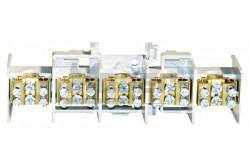 Schrack Nagyáramú kapocs, 25mm2, 5 betét/2x16mm2 leágazás  SCHR-SI022380--