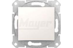 Sedna 101 nyomógomb krém 10AX keretnélkül  SDN0700123