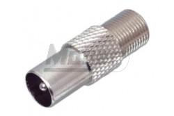 FF 18 koax dugó F aljzat átalakító  SE-FF18