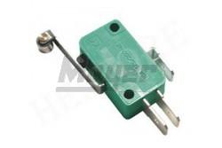 Mikrokapcsoló 1 áramkör-váltó 10A 28x16x10mm lemezes-görgős  SE-MSW03