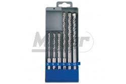 Betonfúró készlet SDS PLUS műanyag tartóban 6db  SZV-23901