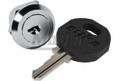Kulcsszerkezet 2 db kulccsal, kiselosztó típusa: C sorozathoz - fém (1db/csomag)  THP-LockCM