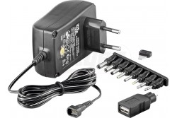 Adapter 1500mA 3/4,5/5/6/7,5/9/12V - 1,5A  TM-ZSI53997