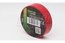 Szigetelőszalag 19x20 PIROS TRACON  TR-20P