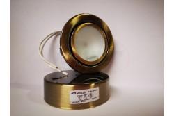 Halogén lámpatest fk. GLOW matt réz  APL-GLOWMA