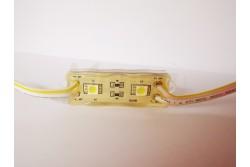 Led modul IP68 2db hideg fehér led 60mA 27lm 58x18x8mm SMD5050  ET-6421