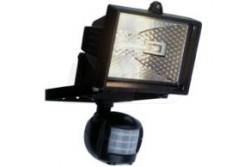 Halogén reflektor 120W fekete R7s, mozgásérzékelős IP44  GAO-8117H
