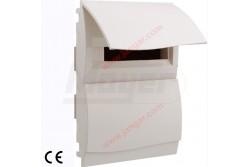 Lakáselosztó süllyesztett, IP40, teli ajtóval, fehér, 36modul, 2soros  JG-6036RN  - Süllyesztett lakáselosztó - Modulok száma: 36 (2sor) - IP40 - PE+N sín - Fehér ajtó Tartozék gipszkarton illesztő készlet.